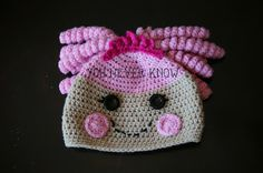 Lalaloopsy inspired hat FREE Pattern