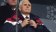 Mike Pence just pulled an embarrassing stunt at the Olympics in South Korea