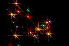 Download Original image of Colourful star burst lights [439kB]