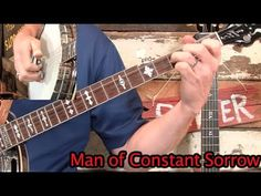 Man of Constant Sorrow- Banjo Lesson! Mountain Dulcimer, Mountain Music, Man Of Constant Sorrow, Bluegrass Music, Music Sing, Banjos, Mandolin, Music Lessons, Music Stuff