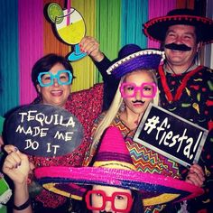Mexican Fiesta Photobooth Props #BHGREParty