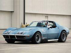 A Corvette L88 Race Car-C3-1968