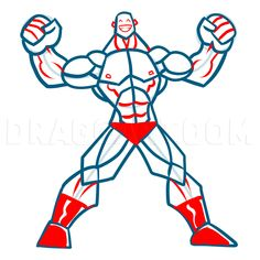 How To Draw Muscles, Step by Step, Drawing Guide, by KingTutorial | dragoart.com Human Anatomy Art, Anatomy Drawing, Anime Drawings Sketches, Easy Drawings, How To Draw Muscles, Digital Art Beginner, Human Figure Drawing, Online Drawing, Amazing Spiderman
