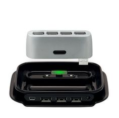 Belkin 2 in 1 USB 2.0 7-PORT HUB by Belkin. $15.99. From the Manufacturer                Featuring the ability to transform from a compact four-port travel Hub into a stable desktop Hub then back again, the Belkin Hub-to-Go USB 2.0 7-Port Hub (F5U706) lets you connect up to seven peripherals through a single open port on your PC or Mac. Ideal for use with essential system components including printers, storage drives, cameras, and scanners, the versatile Hub-to-Go supports...