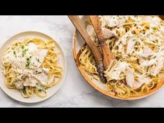 Get your pasta bowls ready, because this copycat recipe tastes just like your favorite restaurant Chicken Alfredo. A big pot of creamy fettuccine—enough to serve the whole family—made for a smidgen of the price of one plate? Consider this a keeper.