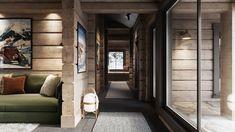 Kvitfjell - Enestående, arkitekttegnet laftehytte på en av Vardens råeste tomter! Panoramautsikt og perfekt Ski-inn/-ut | FINN.no Log Homes, Decoration, Architecture, Oversized Mirror, Real Estate, Cottage, Cabin, Ski, Rustic