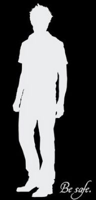Ha ha ha, you might be Robsessed if you know who it is just by the shape of his shadow.
