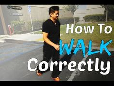 """How To Walk Strain Free and Pain Free With A New Walking """"Brain Map"""" (New Hip Stretching Tips, Too!) - YouTube"""