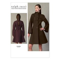 Vogue Sewing Pattern by Ralph Rucci