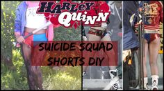 Harley Quinn Shorts DIY   Cosplay  