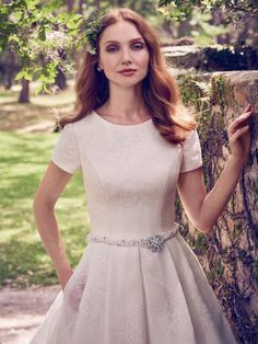 Maggie Sottero Wedding Dress Dylan Marie 8MW483 Alt1