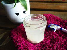 zéro déchet dentifrice homemade huile de coco sans bicarbonate de soude