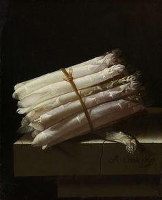 Adriaen Coorte | Stilleven met asperges, 1697, Rijksmuseum, Amsterdam