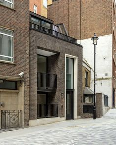 New Burlington Place - Projects - MSMR Architects Building Facade, Building A House, Brick Detail, Architectural Services, Brick Architecture, Reception Rooms, New Builds, Townhouse, Living Spaces