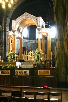 High Altar with Baldaccino - Westminster Cathedral, London