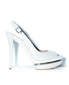 RIVKA WHITE - Vince Camuto     Now here is a pair of white heels worth the wait!! an then some... #gottohavethem!