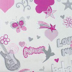 Обои на флизелиновой основе 0.53х10 м принц цвет розовый Ra 734522