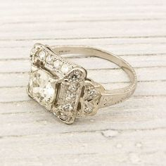 Antique 91 Carat Old European Cut Diamond by ErstwhileJewelry, $6000.00