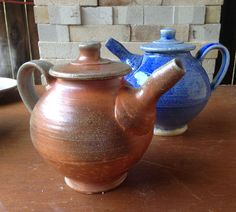 Ron Philbeck. Soda Fired Teapots