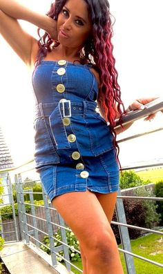 Button Dress, Overall Shorts, Overalls, Buttons, Jeans, Womens Fashion, How To Wear, Clothes, Woman