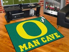FanMats University of Oregon Man Cave All-Star Mat 34x45
