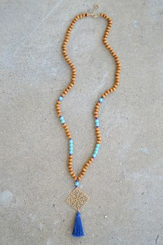 Marcia Necklace | $22.50 www.shoppage6.com