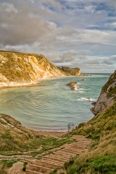 Another picture of the Man O'War Beach taken early morning on the 1st day of the Dorset Photowalk, in 2013.