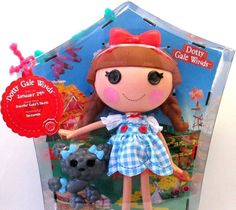 "Large 13"" Lalaloopsy DOTTY GALE WINDS Doll Sewn Jan 29 in Kansas City"