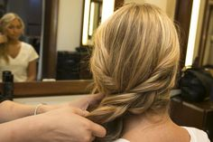 Pin for Later: The Effortlessly Chic Side Plait That's Perfect For Hats
