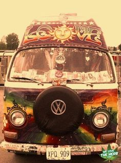 Dream Bus #volkswagon #bus #vw #vwbus #hippie #tiedye #love #peace #travel #roadtrip #adventure #vintage #trippy