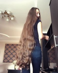 2737 likes, 97 comments - ⭐️What's your favorite length?⭐️ 💖Tag someone with a great hair length! 💁🏼 🔹Very long hair is Long Thin Hair, Curls For Long Hair, Really Long Hair, Long Brown Hair, Super Long Hair, Long Hair Cuts, Long Hair Styles, Thick Hair, Beautiful Long Hair