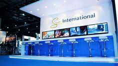 Another pic of the Sun International @ Meetings Africa 2015 custom exhibition stand. We simply cannot get enough!