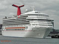 Carnival Triumph!! This was my first cruise!! We found a deck at the very front of the ship that not many people knew about!! We called it our private deck!! It was amazing!!! The crew on the bridge even waved at us!