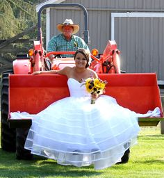 Country wedding at Western Pleasure Guest Ranch - Sandpoint - USA