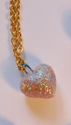 hearts and glitter