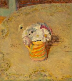pierre bonnard(1867-1947), vase with flowers, 1920. oil on canvas, 43.18 × 38.1 cm. national gallery of art, washington, d.c., usa
