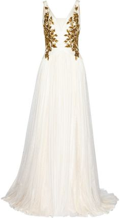 MARCHESA Love this: Embellished Tulle Gown @Lyst