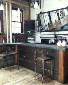 "37 Likes, 3 Comments - Glamloft.pl_Wioleta Bednarczyk (@wioletabednarczyk_glamloft.pl) on Instagram: ""Kuchnia, która intryguje▪️#kitchen which intrigues▪️▪️▪️#loftkitchen #kitchenwitholdwood…"""