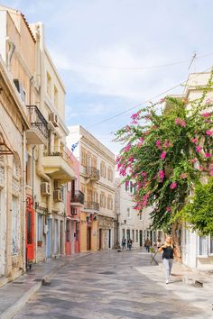 27 Photos of Syros, Greece That Will Ignite Your Wanderlust - Brogan Abroad Syros Greece, Mykonos Greece, Athens Greece, Places To Travel, Places To Go, Travel Destinations, Beautiful World, Beautiful Places, Venice Travel