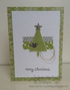 52 WTC: 2# Merry Christmas# Festivals of trees Stampin' Up!