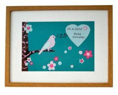 Personalised Lark Picture -Children's Gifts £55