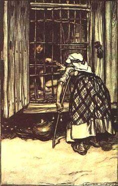 Hansel and Gretel by Arthur Rackham