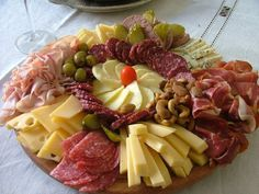 picada argentina quesos y fiambres