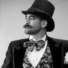 Imperial Moustache competitor from the 2014 national beard championships in Portland Oregon photographed by for by theworldofbeards Handlebar Mustache, Beard No Mustache, Gents Hats, Thick Beard, Mustache Styles, Rugged Style, Black White Photos, Fashion Images, Beard Styles