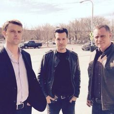 Jesse, Jon and Jason. #OneChicago