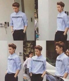 WHY IS SEHUN SO HOT AND MANLY?! ♥ #Sehun #EXO