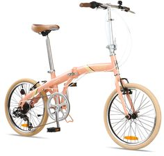 """Citizen Bike SEOUL 20"""" 6-speed Folding Bike with Alloy Frame 