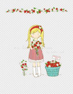 Miss Strawberry ~ Gray