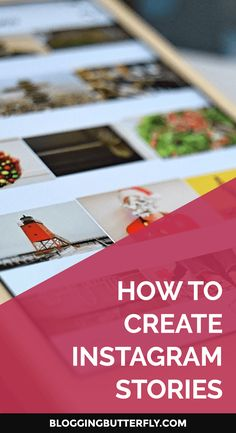 Not sure how to use Instagram stories? Create your first Instagram story easily using this guide. Read this and more social media tips for bloggers: https://bloggingbutterfly.com/create-first-instagram-story/?utm_source=pinterest&utm_campaign=create_instagram_story&utm_medium=group_boards_link&utm_content=image6
