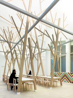 A Cantina, tradición y diseño en Santiago de Compostela por Estudio Nômada | Experimenta